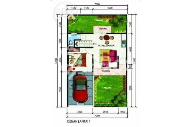 Rumah 2 lantai di pinang, akses tol alam sutera. 6592902