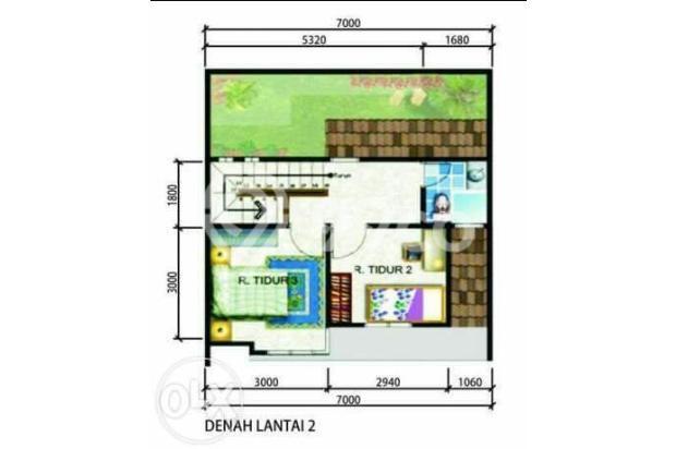 Rumah 2 lantai di pinang, akses tol alam sutera. 6592904