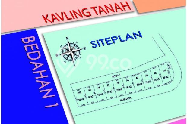 Kapling Tanah, Dekat Sekolah Alam Depok, CASH TAHAP 12 Kali 17698802