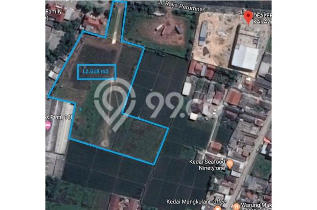 Dijual tanah dikarawang barat, murah dan lokasi sangat strategis 20794761