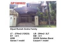 Dijual Rumah Graha Family Dekat Pakuwon Siap Huni!!!