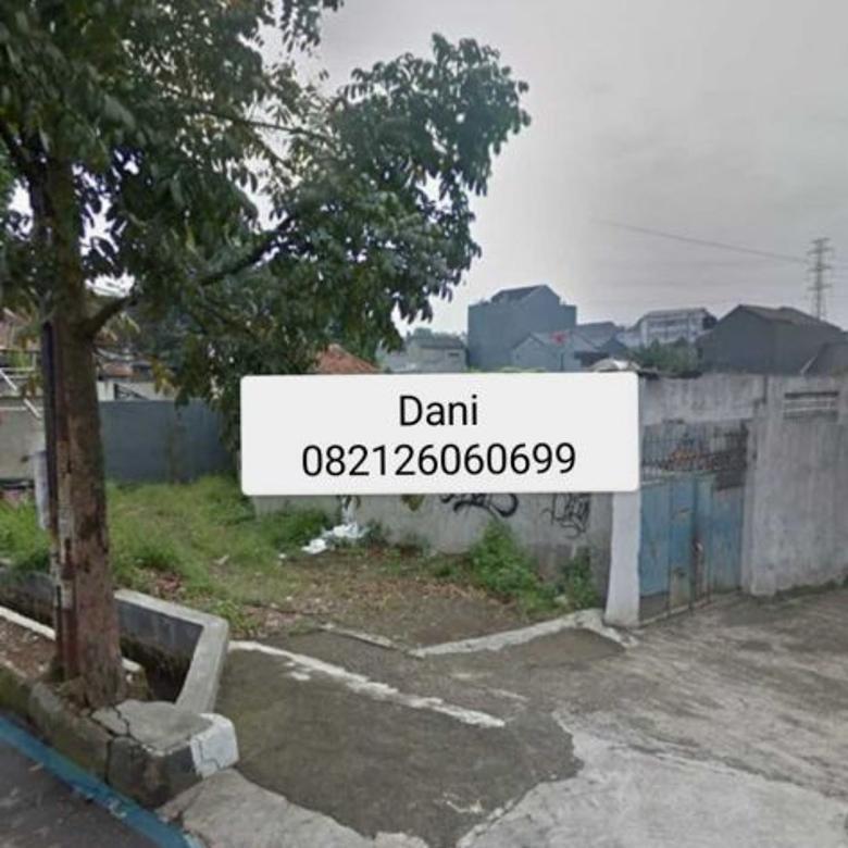 Tanah strategis 1545 meter Dijual Di kota Cimahi