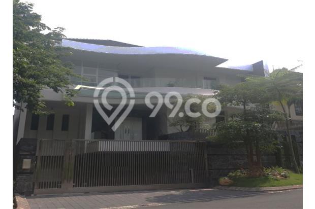 Rumah Kolam Renang Minimalis Mewah Luar Cluster Citraland Surabaya 15423406