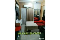 Apartemen Green Pramuka City disewakan Harian Type 21 Studio