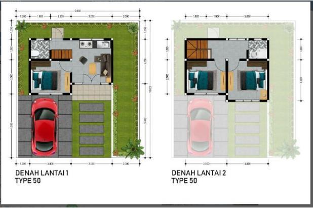 Rp283jt Rumah Dijual