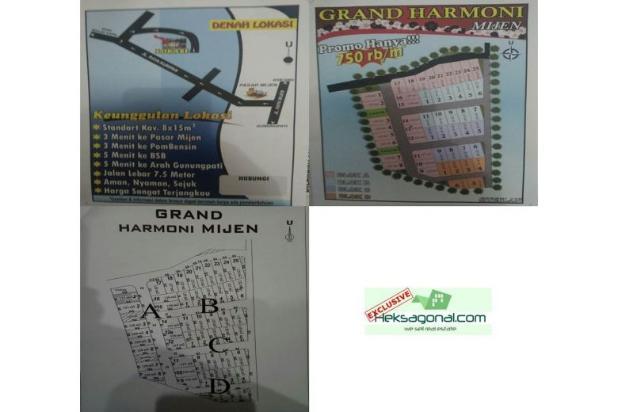 Tanah Dijual Graha Harmoni Mijen, Ngadirgo, Mijen, Semarang HKS3248 12398354