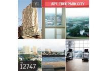 Apt. Tree Park City, Tanggerang, Brand New, Lt 25, PPJB
