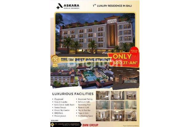 Rp613jt Apartemen Dijual