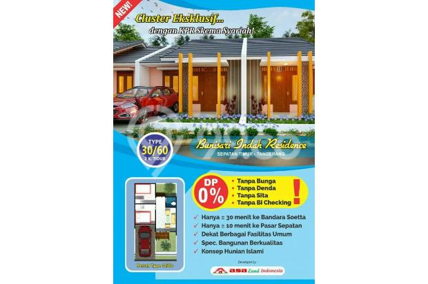 Rumah Murah TANPA DP lokasi strategis Dekat Bandara Soetta Skema syariah 20670378
