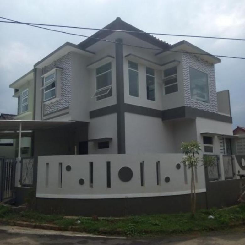 Rumah baru Hoek minimalis 2 lt Melati Mas