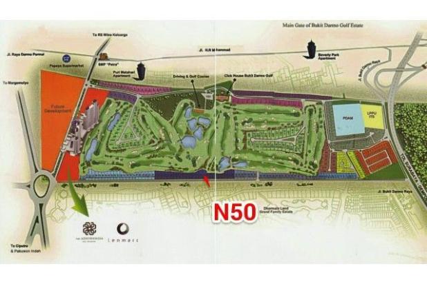 Rp62,1mily Tanah Dijual