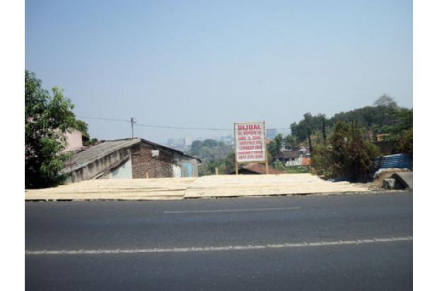 Tanah ada IMB 3 lantai, di Jl Ry Dr wahidin bs dibantu pondasi & urug 4298649
