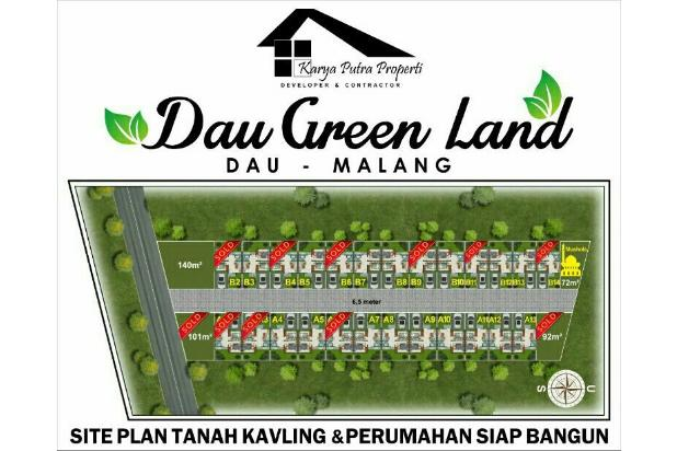 Rumah baru dan murah di Dau Green Land Malang 18272992
