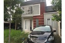 Dijual rumah di Hook tipe 45 di Komplek DeBotanica, Cimahpar, Bogor