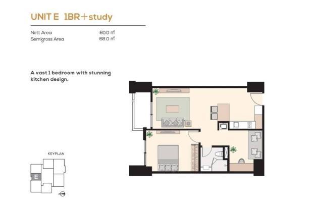 Rp2,72mily Apartemen Dijual