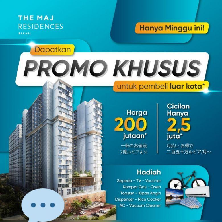 Investasi Apartment Exclusive Harga Terjangkau