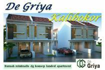 Rumah 2 lantai Kalibokor dekat Pucang Kertajaya konsep syariah