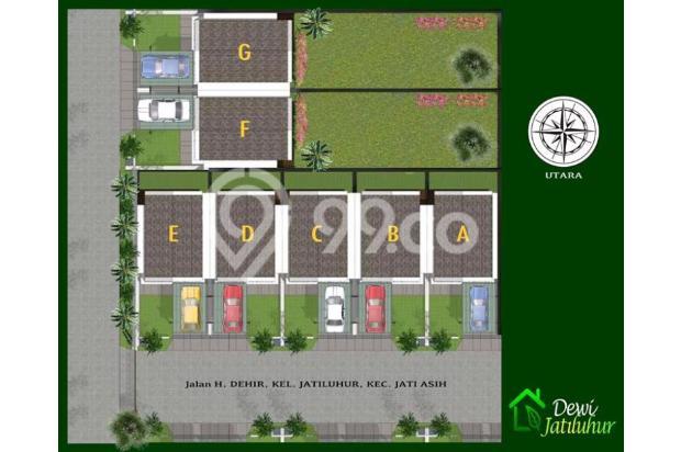 Rumah murah 2 lantai tanah luas free biaya biaya di jatiasih bekasi | 0 16225216