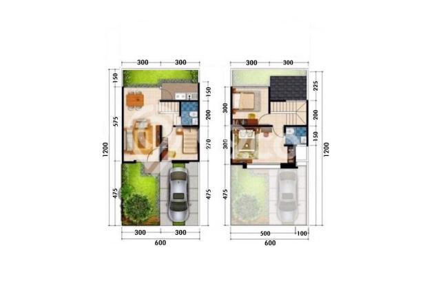 Rumah murah 2 lantai tanah luas free biaya biaya di jatiasih bekasi | 0 16225227