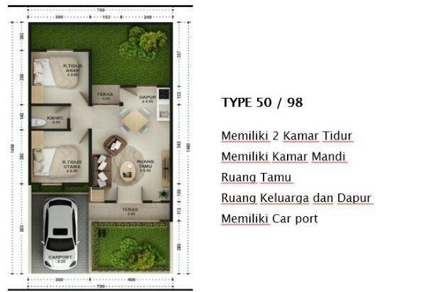 Rp308jt Rumah Dijual