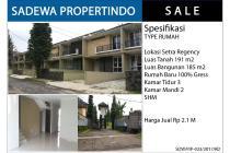 Rumah Baru Minimalis Komplek Setra Regency Bandung