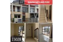 Rumah Metland Puri, Tangerang, 6x20m, 2 Lt, SHM