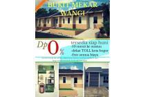 rumah murah KPR 2jutaan strategis bebas banjir di kota bogor