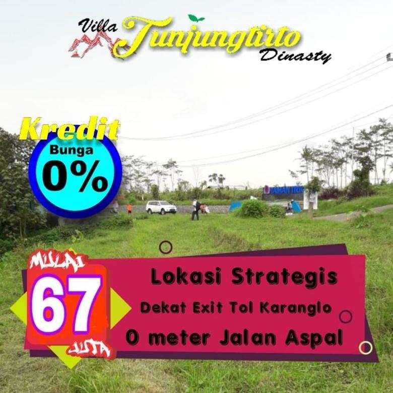 Tanah kavling murah di Villa Tunjungtirto Dinasty Singosari
