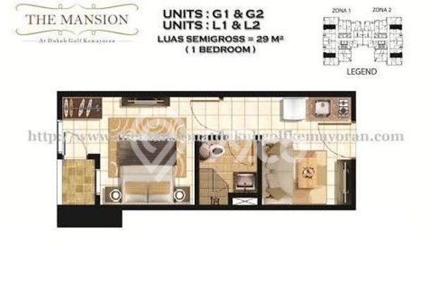 Disewakan Murah Apartemen The Mansion Kemayoran 9295146