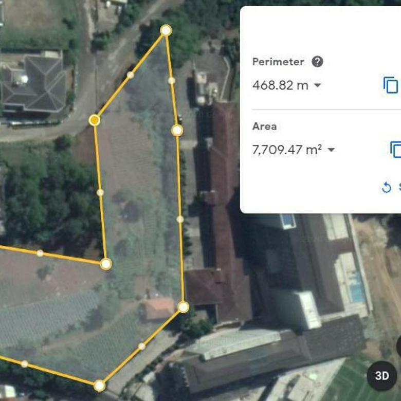 Tanah Setiabudi Mainroad 9,5jt/m. Area menuju Lembang tapi masih wilayah Kota Bandung