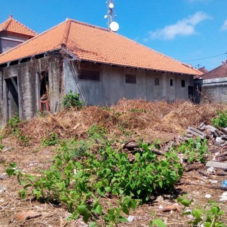 Dijual Tanah Bangunan Lokasi Strategis Hadap Utara di Kuta