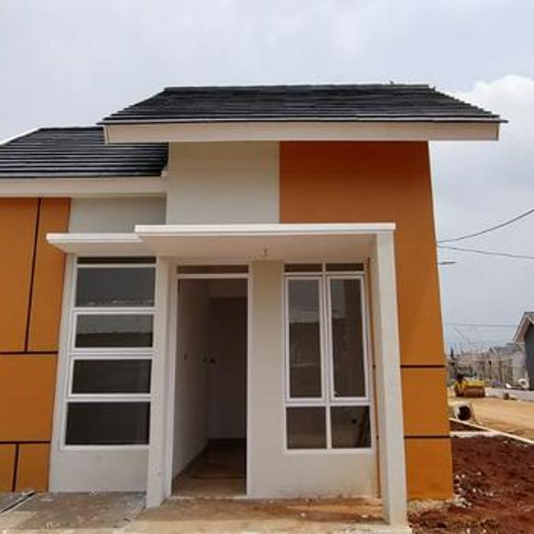 Rumah Murah 1 Lantai Lokasi Belakang Mekarsari Cileungsi Bogor