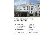 Disewakan Ruko elit di Foresta Business Loft 5 BSD City Tanger