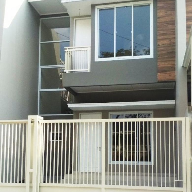 Di J U AL Villa Melati Mas Raya 2 Lantai Rumah Baru Siap Huni