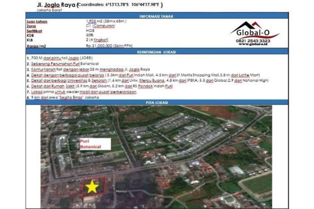 Rp39,9mily Tanah Dijual
