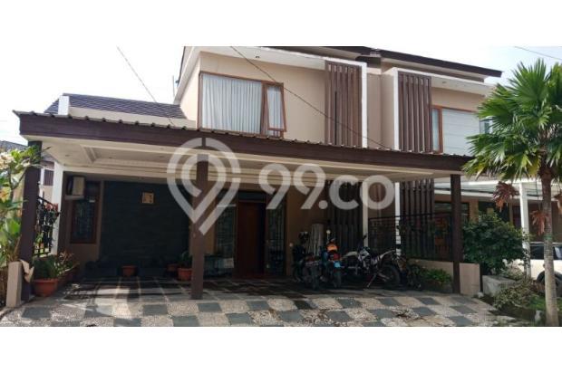 rumah full furnished + ac, kota bali residence bandung 16845663
