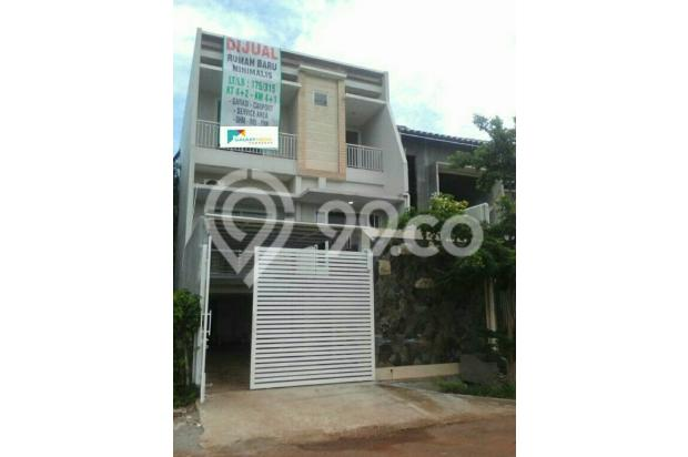 Rumah Baru Konsep Minimalis Billy Moon Pondok Kelapa Bekasi 15146054