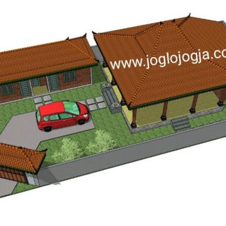 Siap Bangun Rumah Joglo di Jalan Kaliurang km  9