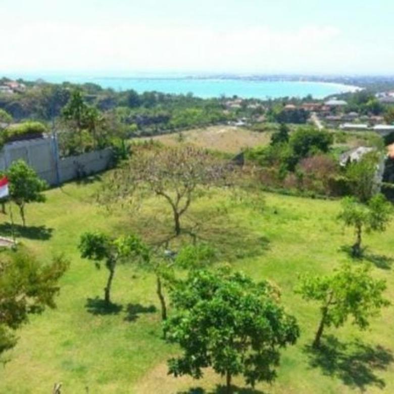 Tanah Ocean View Lingkungan Komplek Villa Elite  Di Jimbaran