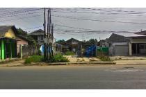 Dijual tanah pinggir jalan raya Bogor lokasi strategis