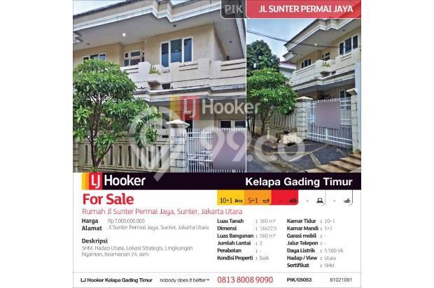 Rumah Jl Sunter Permai Jaya, Sunter, Jakarta Utara 15423504