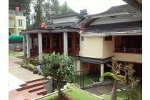 Dijual Hotel bintang tiga / Cottage di Cisarua Puncak Bogor