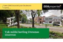 yuk Miliki Kavling Super Hemat di Taman Dutamas Batam center