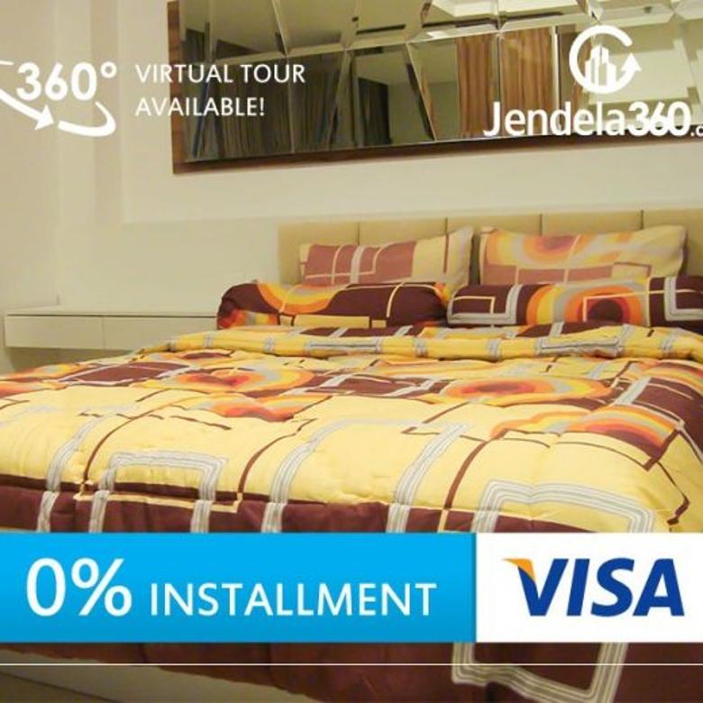 Kemang Village 2BR Fully furnished (bisa Dicicil 12x)