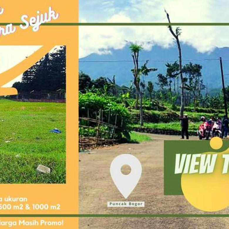 Tanah Kavling View Terbaik di Puncak Bogor