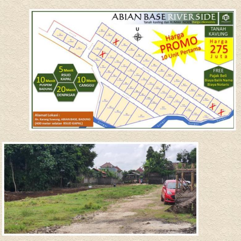 Tanah Kavling SUPER MURAH Promo Dahsyat di Abianbase