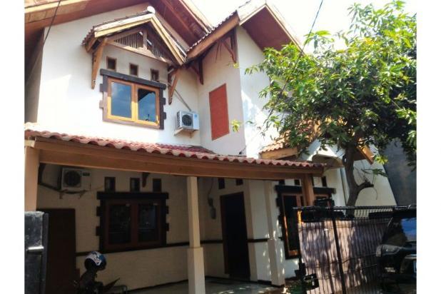 Dijual rumah 2 kavling perumahan D.K.I Pondok Kelapa 6809428