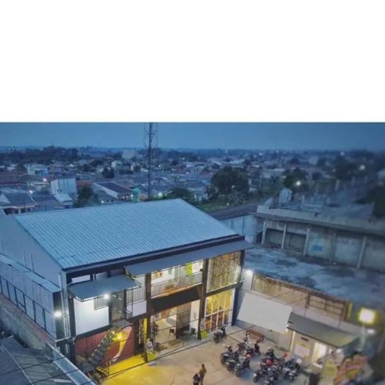 Ruko Kost dan cafe komersil di jalan Provinsi di Cikampek