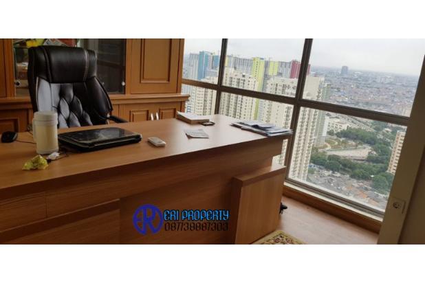ruang kantor the mansion kemayoran luas 64m2 furnished lantai 51 jakut 1,4m