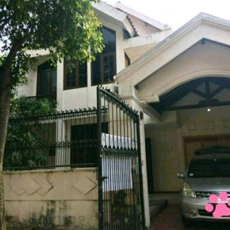 pakuwon indah - cluster vila valensia rumah dua lantai dekat pakuwon mall